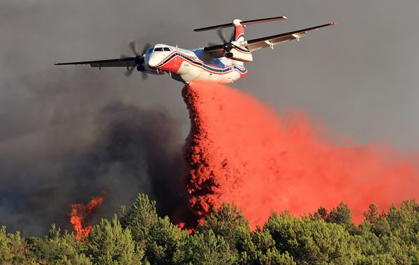 Flying Colours Cop. works with Conair aerial firefighting to create a multi-purpose Q400