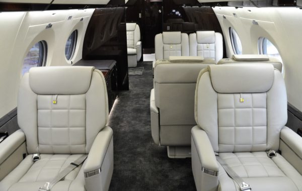Flying Colours Corp. completes striking contemporary refurbishment for Gulfstream G650